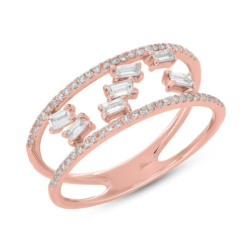 0.36ct 14k Rose Gold Diamond Baguette Ladys Ring SC36213836 500x500 - 0.36ct 14k Rose Gold Diamond Baguette Lady's Ring SC36213836