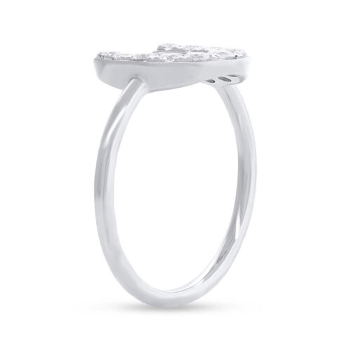 0.36ct 14k White Gold Diamond Horseshoe Ring SC55006264 2 500x500 - 0.36ct 14k White Gold Diamond Horseshoe Ring SC55006264