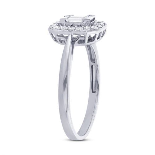0.36ct 18k White Gold Diamond Ladys Ring SC37214817 2 500x500 - 0.36ct 18k White Gold Diamond Lady's Ring SC37214817