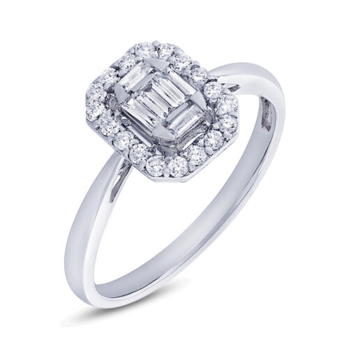 0.36ct 18k White Gold Diamond Ladys Ring SC37214817 500x500 - 0.36ct 18k White Gold Diamond Lady's Ring SC37214817