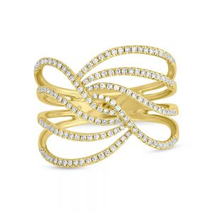 0.37ct 14k Yellow Gold Diamond Ladys Ring SC55005319 1 300x300 - 0.37ct 14k Yellow Gold Diamond Lady's Ring SC55005319 1