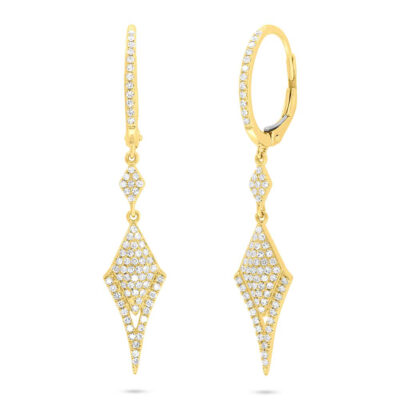 0.38ct 14k Yellow Gold Diamond Ladys Earring SC55007045 400x400 - 0.38ct 14k Yellow Gold Diamond Lady's Earring SC55007045