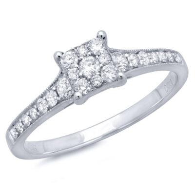 0.40ct 14k White Gold Diamond Ladys Ring SC22002413V2 400x400 - 0.40ct 14k White Gold Diamond Lady's Ring SC22002413V2