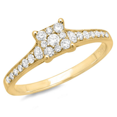 0.40ct 14k Yellow Gold Diamond Ladys Ring SC22003072V2 400x400 - 0.40ct 14k Yellow Gold Diamond Lady's Ring SC22003072V2