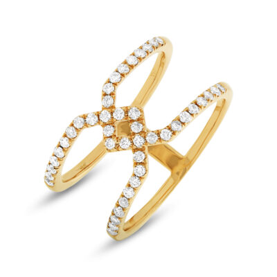 0.40ct 14k Yellow Gold Diamond Ladys Ring SC22003727 400x400 - 0.40ct 14k Yellow Gold Diamond Lady's Ring SC22003727