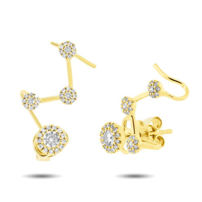 0.41ct 14k Yellow Gold Diamond Ear Crawler Earring SC55004222 400x400 - 0.41ct 14k Yellow Gold Diamond Ear Crawler Earring SC55004222
