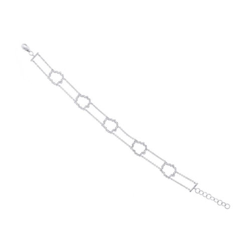 0.43ct 14k White Gold Diamond Bracelet SC55002561 500x500 - 0.43ct 14k White Gold Diamond Bracelet SC55002561