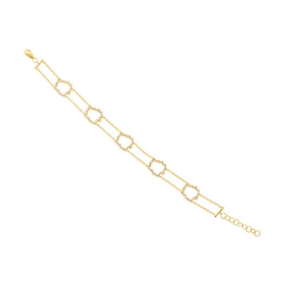 0.43ct 14k Yellow Gold Diamond Bracelet SC55002562 400x400 - 0.43ct 14k Yellow Gold Diamond Bracelet SC55002562