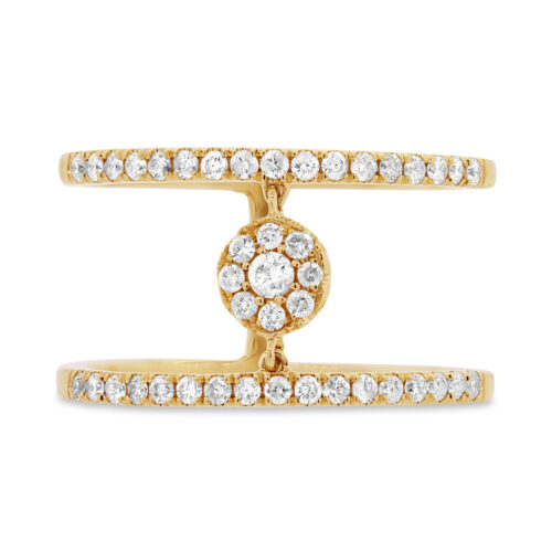 0.43ct 14k Yellow Gold Diamond Ladys Ring SC22003717 1 500x500 - 0.43ct 14k Yellow Gold Diamond Lady's Ring SC22003717
