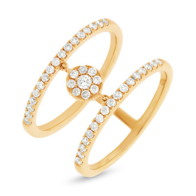 0.43ct 14k Yellow Gold Diamond Ladys Ring SC22003717 400x400 - 0.43ct 14k Yellow Gold Diamond Lady's Ring SC22003717