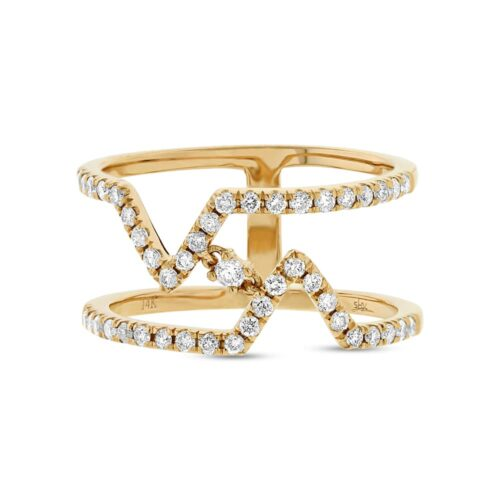 0.43ct 14k Yellow Gold Diamond Ladys Ring SC22003764 1 500x500 - 0.43ct 14k Yellow Gold Diamond Lady's Ring SC22003764