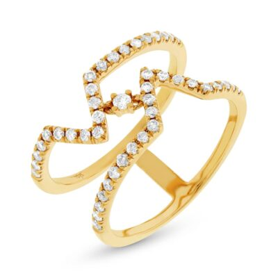 0.43ct 14k Yellow Gold Diamond Ladys Ring SC22003764 400x400 - 0.43ct 14k Yellow Gold Diamond Lady's Ring SC22003764