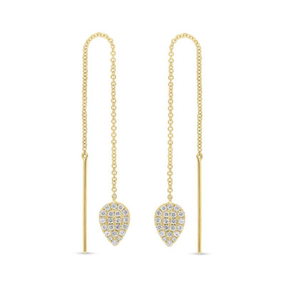 0.43ct 14k Yellow Gold Diamond Threader Earring SC55005847 400x400 - 0.43ct 14k Yellow Gold Diamond Threader Earring SC55005847