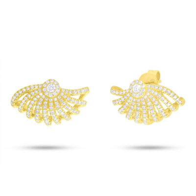 0.53ct 14k Yellow Gold Diamond Earring SC55006757 400x400 - 0.53ct 14k Yellow Gold Diamond Earring SC55006757