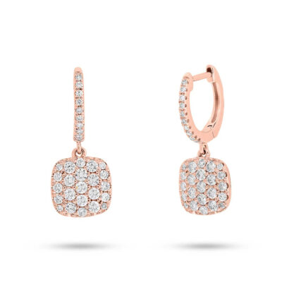 0.54ct 14k Rose Gold Diamond Pave Earring SC22004410 400x400 - 0.54ct 14k Rose Gold Diamond Pave Earring SC22004410