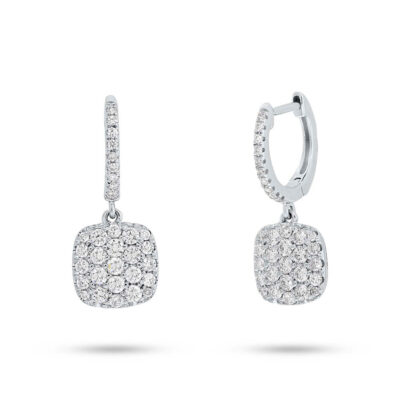 0.54ct 14k White Gold Diamond Pave Earring SC22004408 400x400 - 0.54ct 14k White Gold Diamond Pave Earring SC22004408