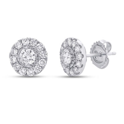 0.55ct Round Brilliant Center and 0.80ct Side 14k White Gold Diamond Stud Earring SC22004471 400x400 - 0.55ct Round Brilliant Center and 0.80ct Side 14k White Gold Diamond Stud Earring SC22004471