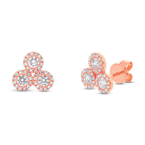 0.68ct 14k Rose Gold Diamond Earring SC55002293 500x500 - 0.68ct 14k Rose Gold Diamond Earring SC55002293