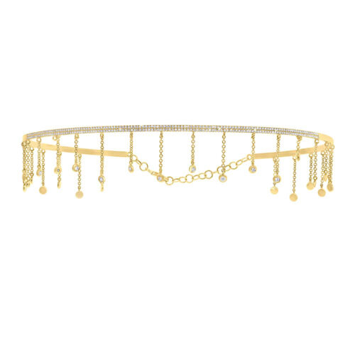 0.80ct 14k Yellow Gold Diamond Choker Necklace SC55005516 500x500 - 0.80ct 14k Yellow Gold Diamond Choker Necklace SC55005516