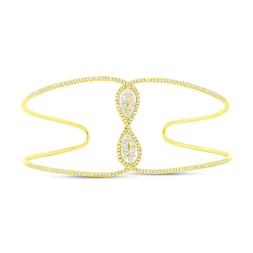 0.81ct 14k Yellow Gold Diamond Bangle SC55004345ZS 500x500 - 0.81ct 14k Yellow Gold Diamond Bangle SC55004345ZS
