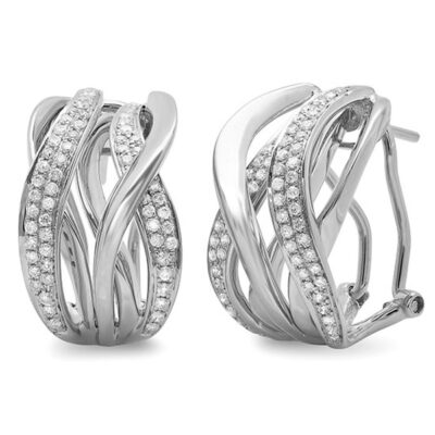 0.84ct 14k White Gold Diamond Earring SC47003351 400x400 - 0.84ct 14k White Gold Diamond Earring SC47003351
