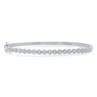 0.89ct 14k White Gold Diamond Bangle SC55004301ZS 400x400 - 0.89ct 14k White Gold Diamond Bangle SC55004301ZS