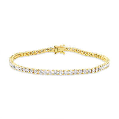 1.00ct 14k Yellow Gold Diamond Ladys Bracelet SC55002950 400x400 - 1.00ct 14k Yellow Gold Diamond Lady's Bracelet SC55002950