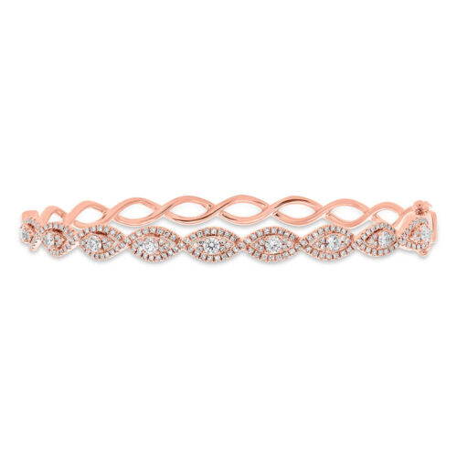 1.04ct 14k Rose Gold Diamond Bangle SC55005646ZS 500x500 - 1.04ct 14k Rose Gold Diamond Bangle SC55005646ZS