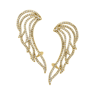 1.61ct 14k Yellow Gold Diamond Ear Crawler Earring SC47003691 400x400 - 1.61ct 14k Yellow Gold Diamond Ear Crawler Earring SC47003691