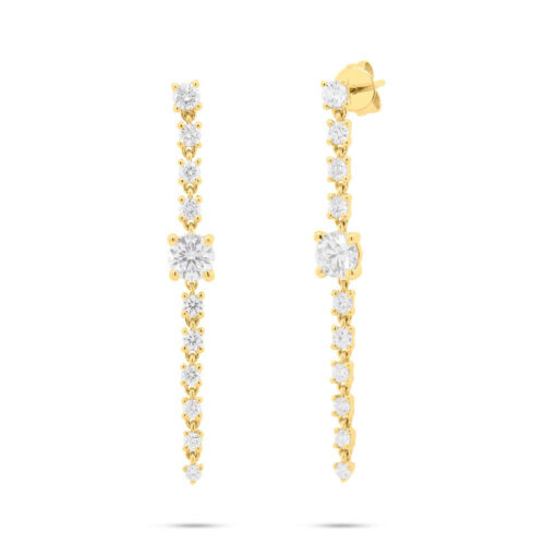 1.75ct 14k Yellow Gold Diamond Earring SC55006998 500x500 - 1.75ct 14k Yellow Gold Diamond Earring SC55006998