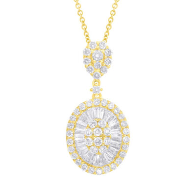 1.76ct 14k Yellow Gold Diamond Baguette Necklace SC37215629 400x400 - 1.76ct 14k Yellow Gold Diamond Baguette Necklace SC37215629