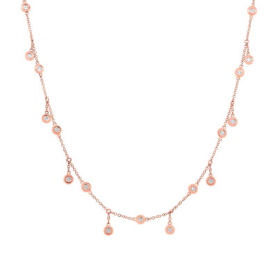 1.85ct 14k Rose Gold Diamond Shaker Necklace SC55002849 400x400 - 1.85ct 14k Rose Gold Diamond Shaker Necklace SC55002849
