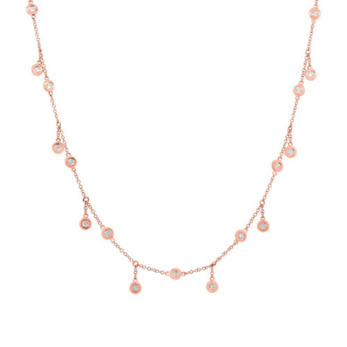 1.85ct 14k Rose Gold Diamond Shaker Necklace SC55002849 500x500 - 1.85ct 14k Rose Gold Diamond Shaker Necklace SC55002849