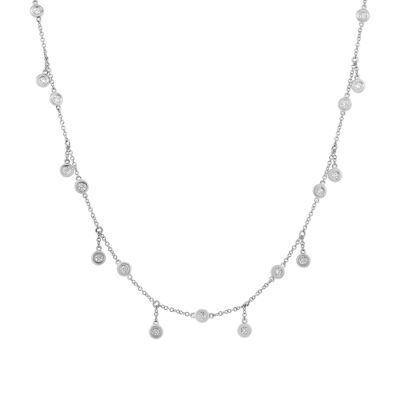 1.85ct 14k White Gold Diamond Shaker Necklace SC55003441 400x400 - 1.85ct 14k White Gold Diamond Shaker Necklace SC55003441