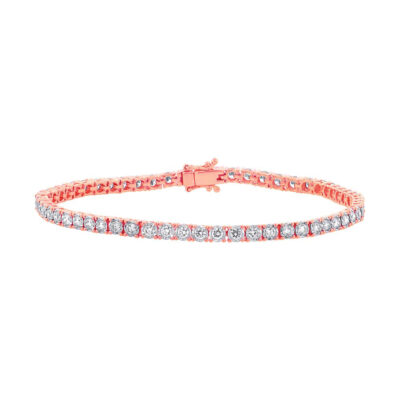 2.02ct 14k Rose Gold Diamond Ladys Bracelet SC55002356 400x400 - 2.02ct 14k Rose Gold Diamond Lady's Bracelet SC55002356