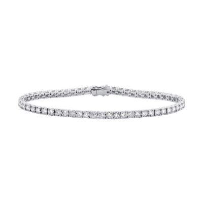 2.02ct 14k White Gold Diamond Ladys Bracelet SC55002330 400x400 - 2.02ct 14k White Gold Diamond Lady's Bracelet SC55002330