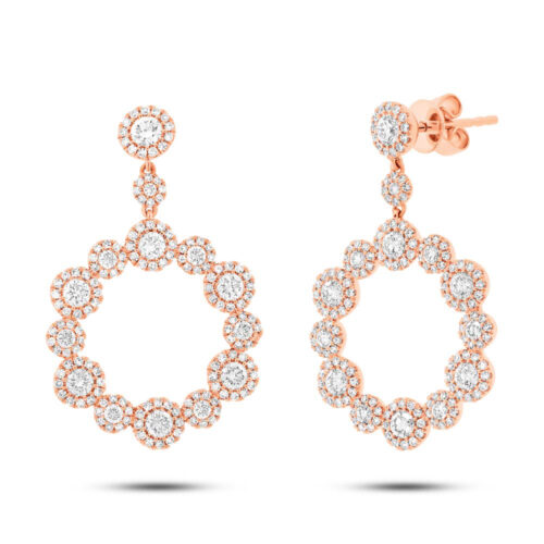 2.07ct 14k Rose Gold Diamond Earring SC55003852 500x500 - 2.07ct 14k Rose Gold Diamond Earring SC55003852