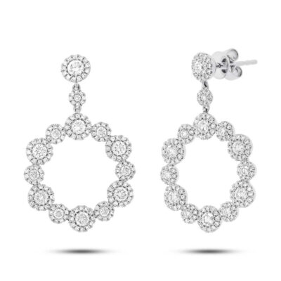 2.07ct 14k White Gold Diamond Earring SC55003850 400x400 - 2.07ct 14k White Gold Diamond Earring SC55003850