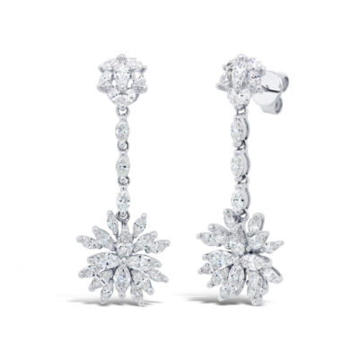 2.80ct 14k White Gold Diamond Dangle Earring SC22002289 400x400 - 2.80ct 14k White Gold Diamond Dangle Earring SC22002289