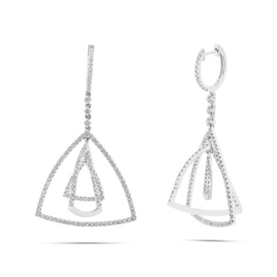 2.80ct 18k White Gold Diamond Earring SC62008864 400x400 - 2.80ct 18k White Gold Diamond Earring SC62008864