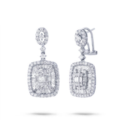 2.93ct 18k White Gold Diamond Earring SC37214808 400x400 - 2.93ct 18k White Gold Diamond Earring SC37214808