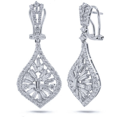 2.96ct 18k White Gold Diamond Earring SC37214458 400x400 - 2.96ct 18k White Gold Diamond Earring SC37214458