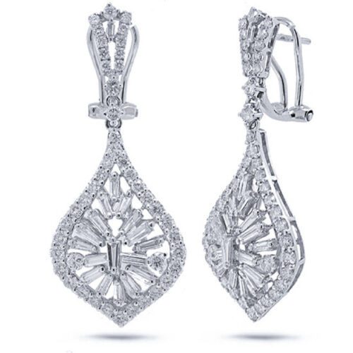 2.96ct 18k White Gold Diamond Earring SC37214458 500x500 - 2.96ct 18k White Gold Diamond Earring SC37214458