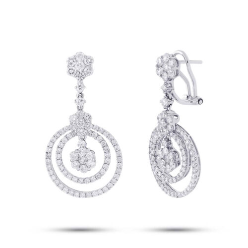2.98ct 18k White Gold Diamond Earring SC37214951 500x500 - 2.98ct 18k White Gold Diamond Earring SC37214951