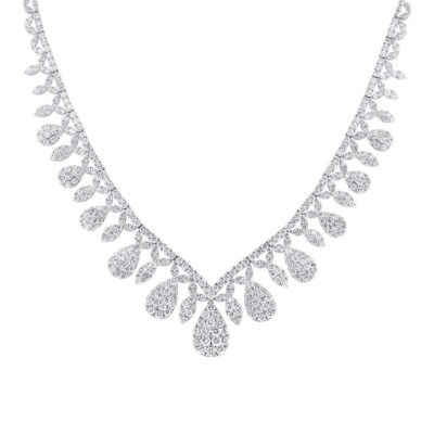 20.57ct 18k White Gold Diamond Necklace SC37215168 400x400 - 20.57ct 18k White Gold Diamond Necklace SC37215168