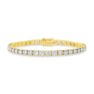 3.00ct 14k Yellow Gold Diamond Ladys Bracelet SC55002953 400x400 - 3.00ct 14k Yellow Gold Diamond Lady's Bracelet SC55002953