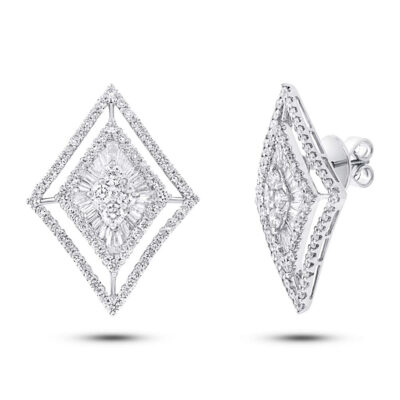 3.20ct 18k White Gold Diamond Earring SC37215232 400x400 - 3.20ct 18k White Gold Diamond Earring SC37215232