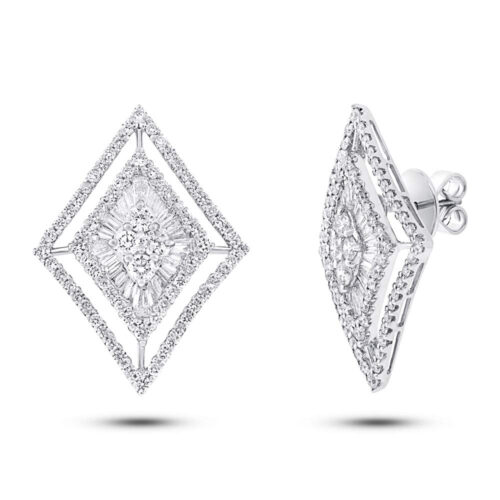 3.20ct 18k White Gold Diamond Earring SC37215232 500x500 - 3.20ct 18k White Gold Diamond Earring SC37215232