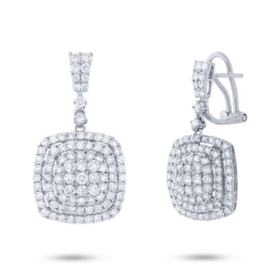 3.22ct 18k White Gold Diamond Earring SC37214375 400x400 - 3.22ct 18k White Gold Diamond Earring SC37214375