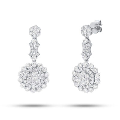 3.30ct 18k White Gold Diamond Earring SC62008842 400x400 - 3.30ct 18k White Gold Diamond Earring SC62008842